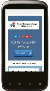 small business mobile phone website design